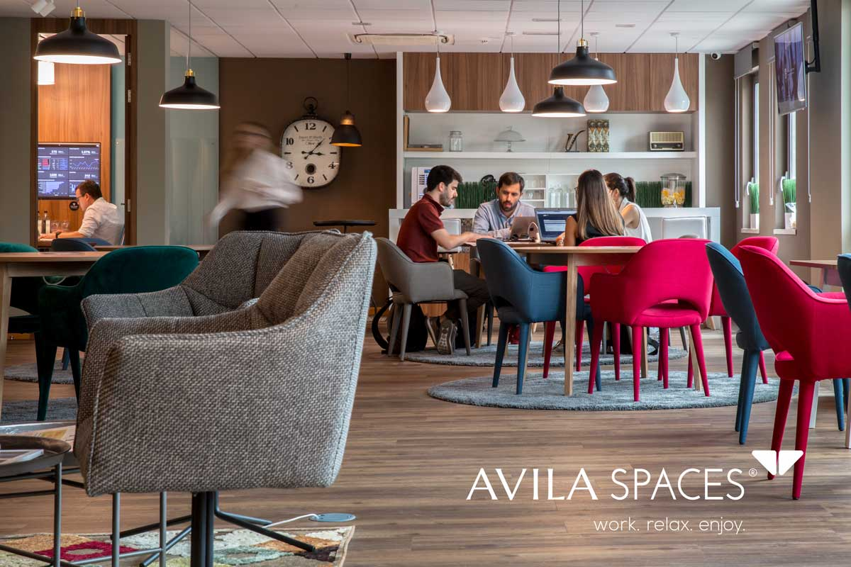 Avila Spaces coworking business lounge