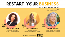 LIVE EVENT: Restart Your BUSINESS, Restart Your LIFE