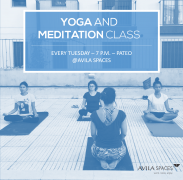 Yoga and Meditation Class - 8